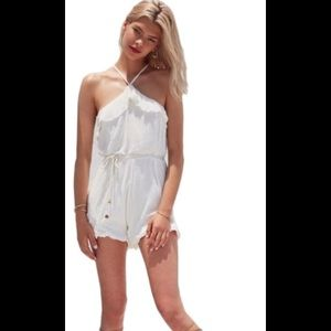Lovers + friends romper NWT